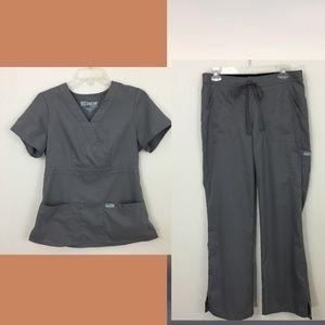 Grey's Anatomy Gray Scrub Set